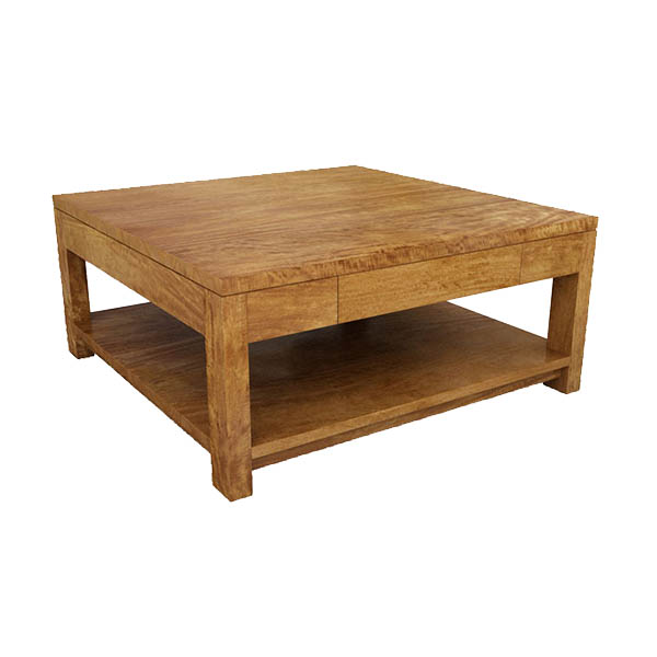 New York Plain Coffee Tables Square W Shelf