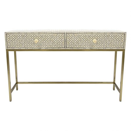 AL-28964GRY-Geometric-Grey-Bone-Console