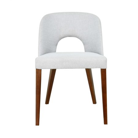 Bellagio Dining Chair Ash Honey Leg