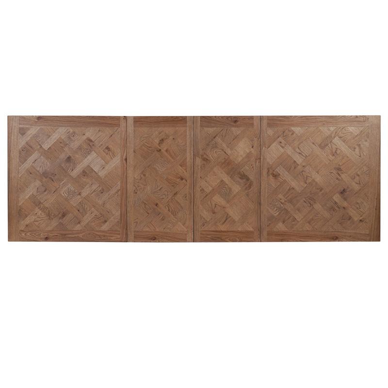 Bellagio-Oak-Extension-Table-Top