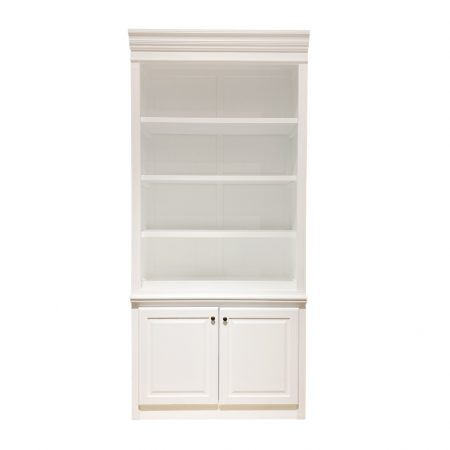Capri-Narrow-Bookcase