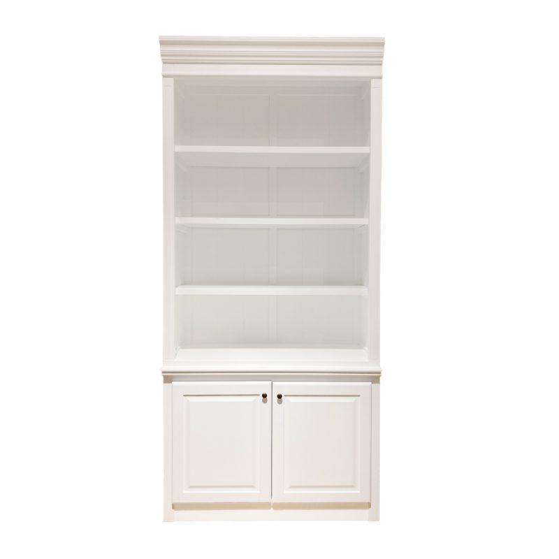Capri-Narrow-Bookcase