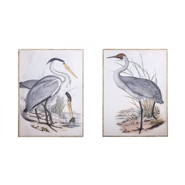Framed Crane & Wild Crane Prints $195 each