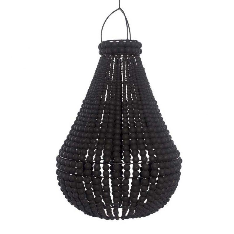 DBEX-012-BL-Kubah-Pendant-Black-1