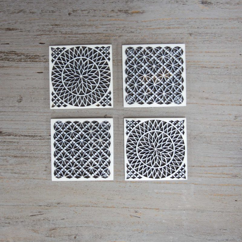 DC1580-Carved Resin Coasters Set 4-3