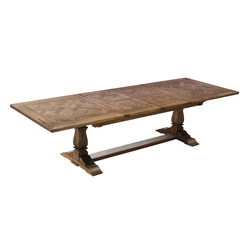 Pedestal Extension Dining Table Oak Shack Homewares