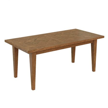 Hamilton Dining Table Parquetry