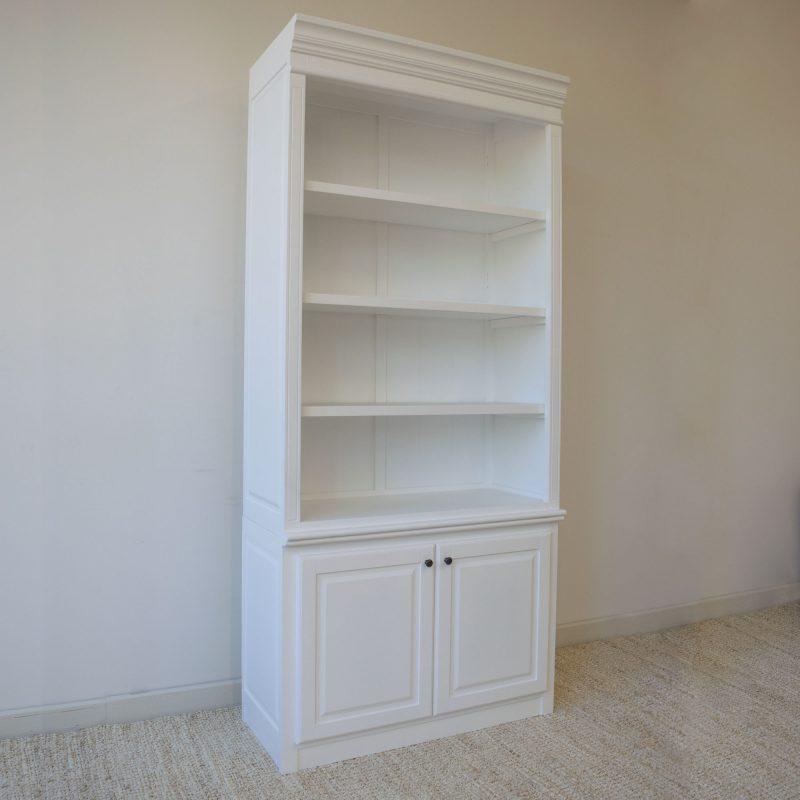 Hamptons-Narrow-Bookcase-Side