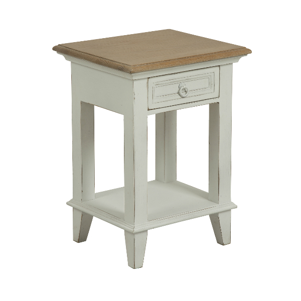 Hamptons side table - Table de chevet noir pas cher ...