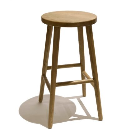 Harmonie bar stool oak