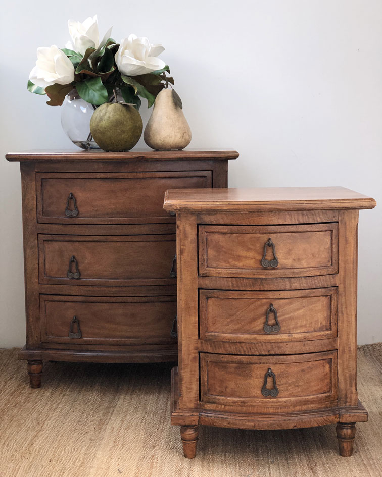 Chateau 3 Drawer Chest & Bedside