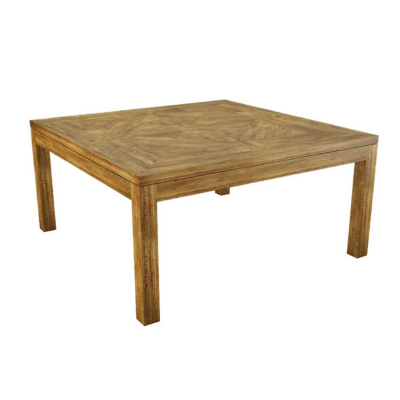 NY parquetry square dining table