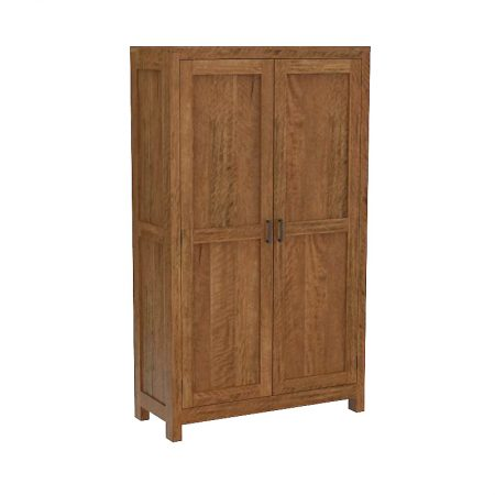 New York 2 door wooden cabinet