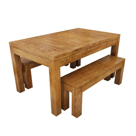 New York Dining Table Bench Set small