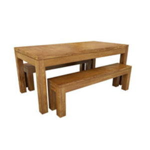New York Plain Bench Set