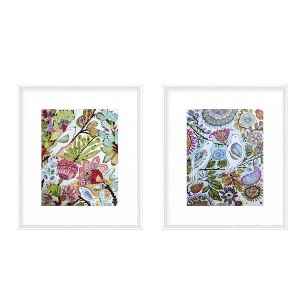 Paper Birds I & II $235 each