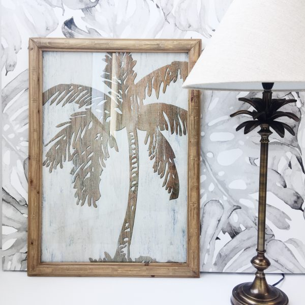 Wall Art Palm Print