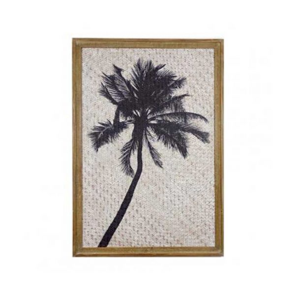 Rikitea Black Palm Print $265