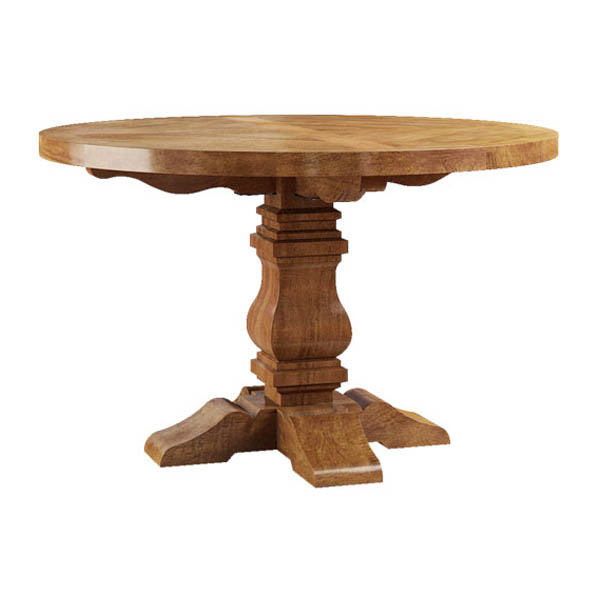 Deauville 100cm Round Dining Table
